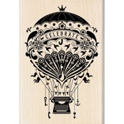 "Inkadinkado Mounted Rubber Stamp, 2.75"" x 4"""