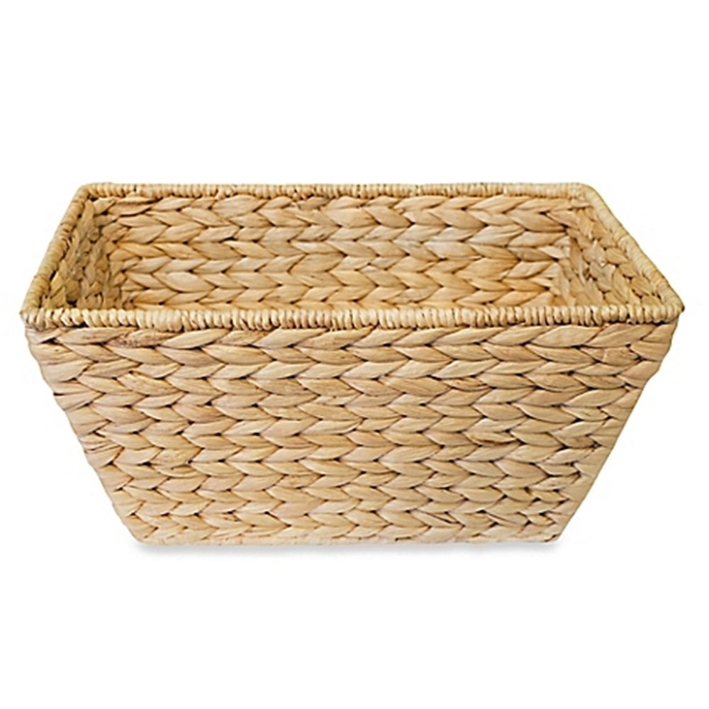Brand New  Dawson Boutique Hand-woven Wicker Utility Basket, Bath Accessory will elevate your bathroom décor, High-quality