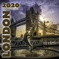 London 2020 Mini Wall Calendar (Paperback)