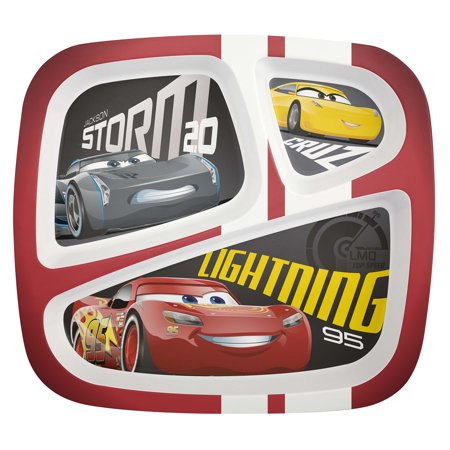 Cars 3 Lightning McQueen & Cruz Ramirez Kids Divided - Cars Plates