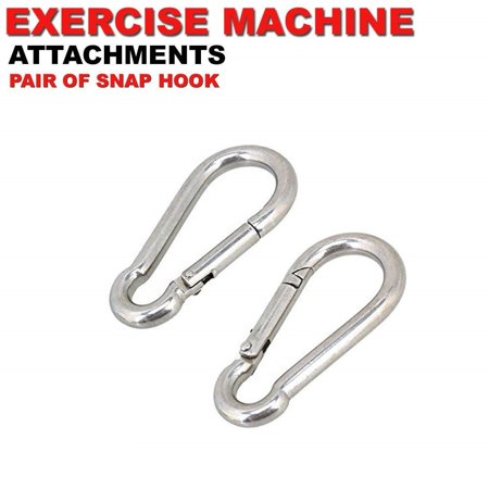 Fitness Maniac Strength Training Snap Hooks Gym Accessories Home Gym Hanging Cable Attachments Clips Exercise Machine Equipment (Hanging Gem)