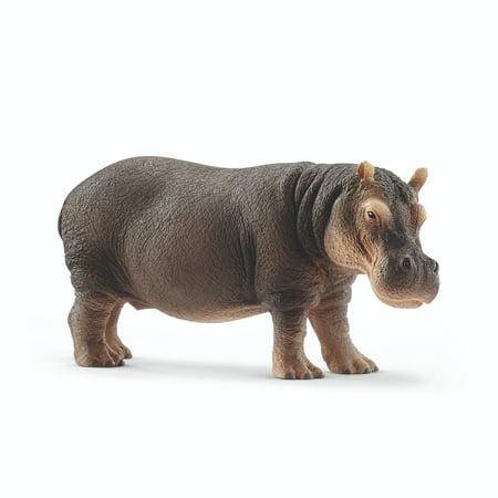 Schleich Wild Life, Hippopotamus Toy Figure