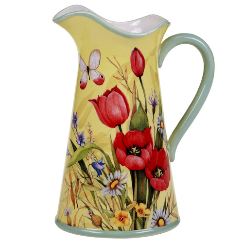 Certified International Floral Bouquet 96 oz. Pitcher