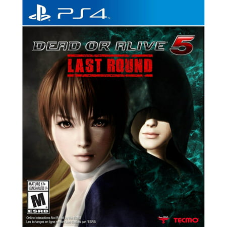Dead or Alive 5: Last Round, Tecmo Koei, PlayStation 4, 040198002608 (Dead Or Alive 5 Ultimate Halloween)