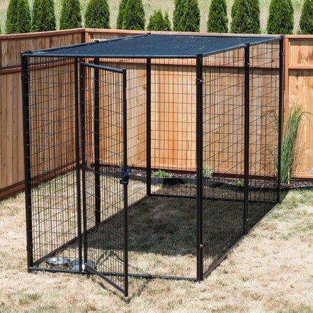 Jewett Cameron Lucky Dog Modular Steel Yard Kennel