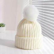 Costyle Toddler Kids Girl Boy Baby Winter Warm Crochet Knit Hat Children Ski Beanie Cap