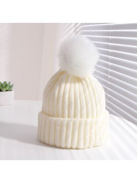 Costyle Toddler Kids Girl Boy Baby Winter Warm Crochet Knit Hat Children Ski Beanie Cap