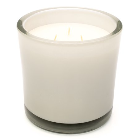 Better Homes Gardens 32 Oz 3 Wick Soft Cashmere Amber Silver Candle