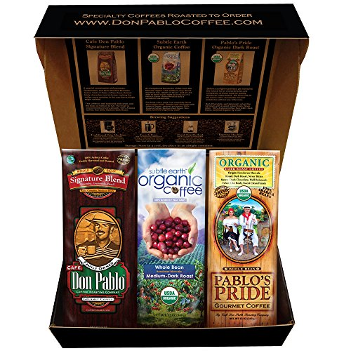 Cafe Don Pablo Special Gift Box Coffee Sampler - Variety ...