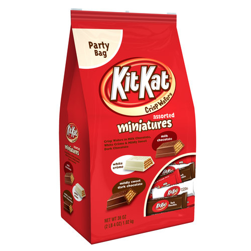 Kit Kat® Miniatures Assorted Crisp Wafers, 36 oz
