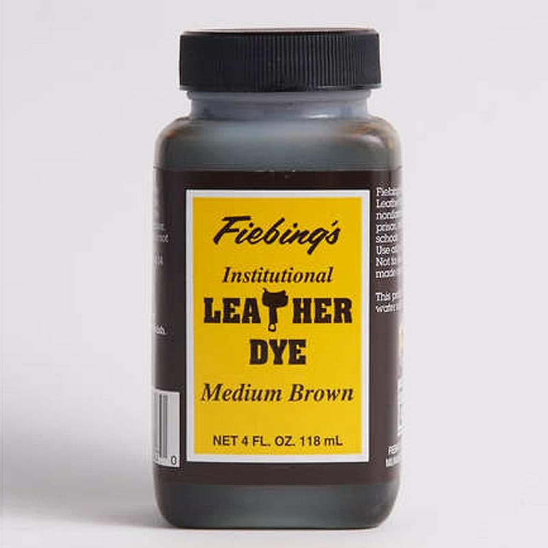 FIEBING'S WATER BASED INSTITUTIONAL LEATHER DYE 4 OZ/ 32 OZ ALL COLORS