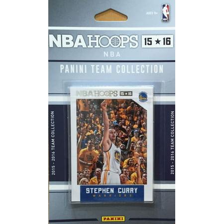2015-2016 Panini Hoops NBA Golden State Warriors Team Set