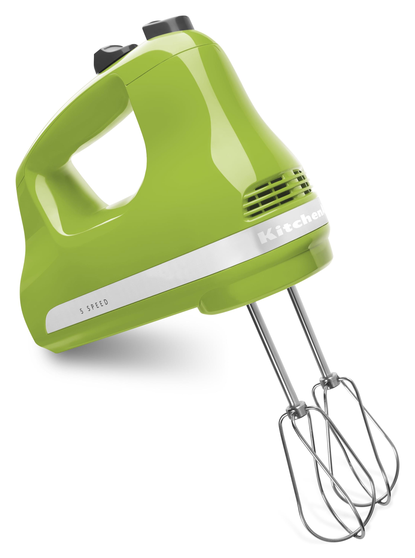 KitchenAid 5-Speed Ultra Power Hand Mixer, Green Apple (KHM512GA) by KitchenAid