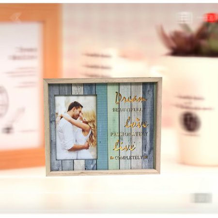 Highland Dunes Dyson Lighted Dream Beautifully, Live Passionately, Live Completely Picture Frame