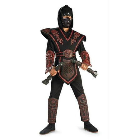 Costumes For All Occasions Ru882152Sm Red Skull Warrior Ninja Chld S