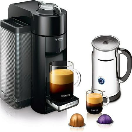 Nespresso Coffee Maker Usa : Nespresso A+GCC1-US-BK-NE VertuoLine Evoluo Deluxe Coffee & Espresso Maker with Aeroccino Plus ...