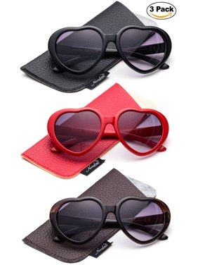 d0e5858c6a Product Image Newbee Fashion - Kyra Kids Girls Fashion Heart Shaped  Sunglasses Vintage Cute Heart Sunglasses for Gilrs
