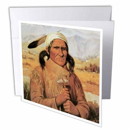 3drose geronimo by henry cross american west native american 3drose geronimo by henry cross american west native american greeting cards 6 x 6 m4hsunfo