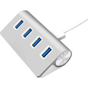 4PORT USB 3.0 ALUMINUM MAC/PC HUB