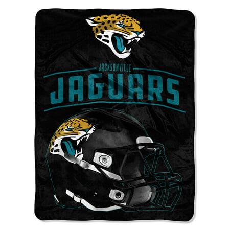 "NFL Jacksonville Jaguars ""Franchise"" Micro Raschel Throw, 46"" X - Northwest Jacksonville Jaguars Soft Blanket"