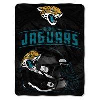 "NFL Jacksonville Jaguars ""Franchise"" Micro Raschel Throw, 46"" X 60"""