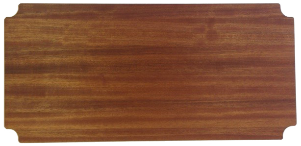 "18"" Deep x 66"" Wide Sapele Butcher Block by Omega Products Corp."