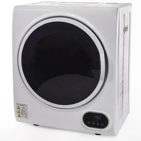 Barton Premium Digital Electric Laundry Automatic Dryer Machine Timer Control Panel Dry Clothes, White