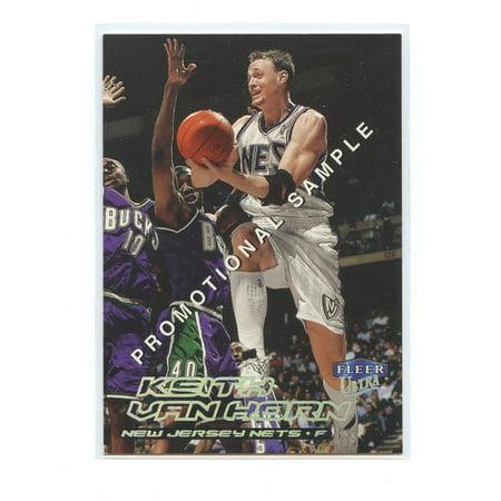 1999-00 Fleer Ultra Promotional Sample #64 Keith Van Horn New Jersey Nets
