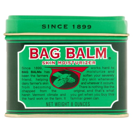 Vermonts Original Bag Balm Skin Moisturizer 8 Ounces
