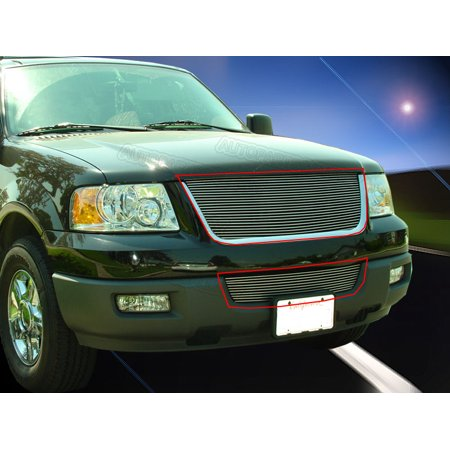 Fedar Billet Grille Combo For 2003-2006 Ford Expedition - Ford Expedition Grillcraft Grille