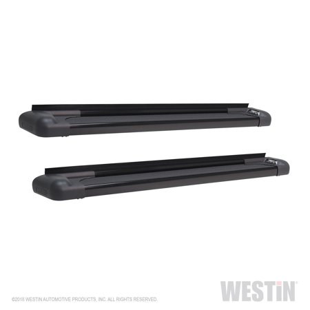 Vehicle Specific Mount - Westin 27-65765 Sure-Grip LED Running Boards; Black Aluminum; 83 in. Length; Does Not Include Mount Kit; Vehicle Specific Mount Kit Must Be Purchased Separately;