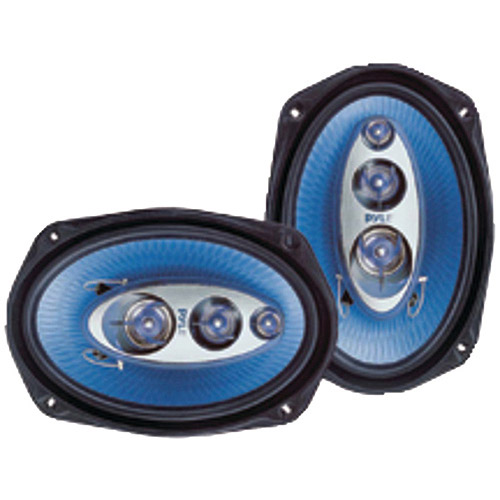 "Pyle PL6984BL Blue Label 4-Way 6"" x 9"" Speakers"
