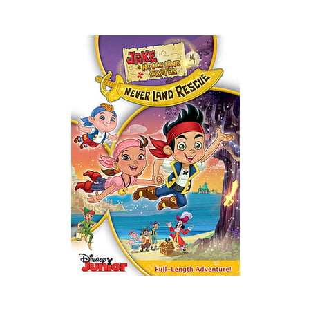 Jake & the Neverland Pirates: Jake's Never Land Rescue (DVD) - Jake And The Neverland Pirate Sword