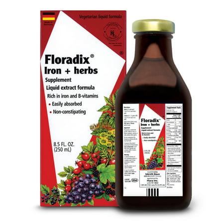 5 Iron Head - Salus-Haus Floradix Iron plus Herbs 8.5 Oz