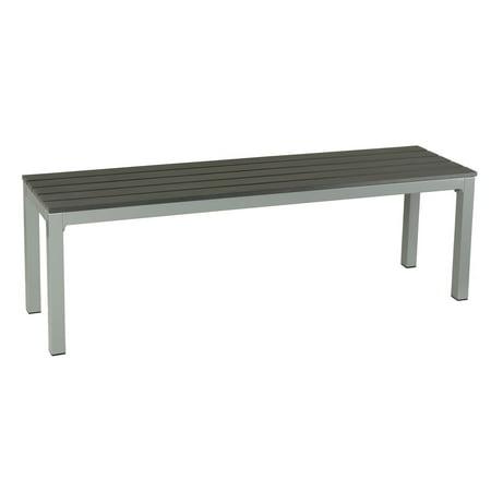 Cortesi Home Aluminum Outdoor Picnic Bench