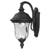 Z-Lite Armstrong Outdoor Wall Light in Black