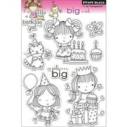 """Penny Black Clear Stamps 5"""" x 7.5"""" Sheet, Big Wish"""