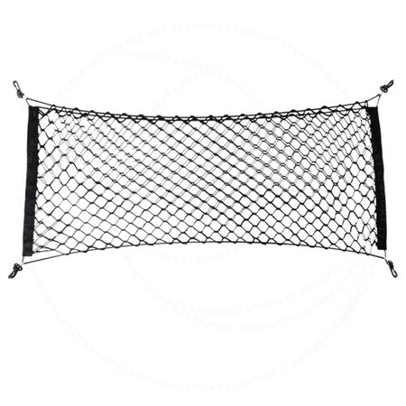 FIT 98-14 LEXUS CAR REAR TRUNK LUGGAGE CARGO NET DOUBLE-LAYER NYLON ORGANIZER - Fits Passion Net