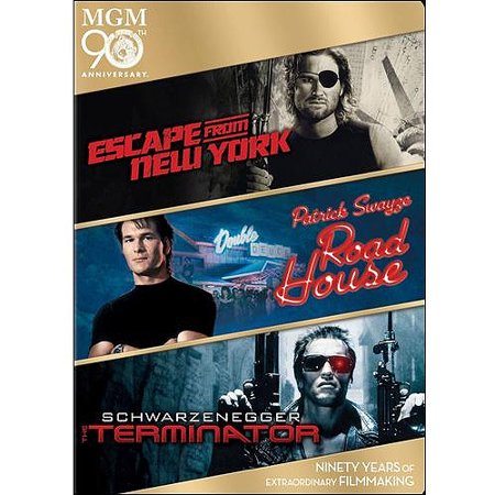 Escape From New York   Road House   The Terminator
