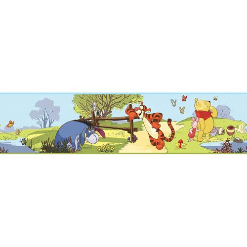 Disney - Peel & Stick Wall Border, Winnie the Pooh