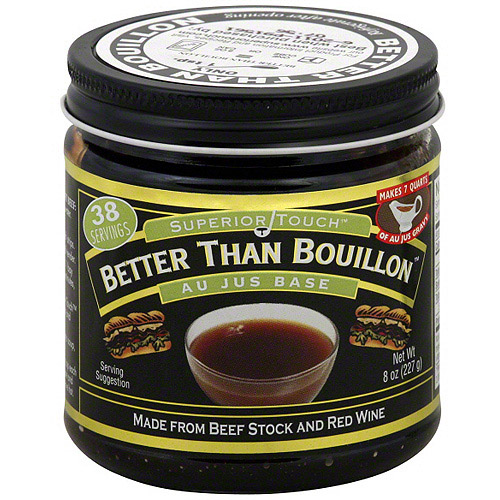 Superior Touch Better Than Bouillon Au Jus Base, 8 oz (Pack of 6)