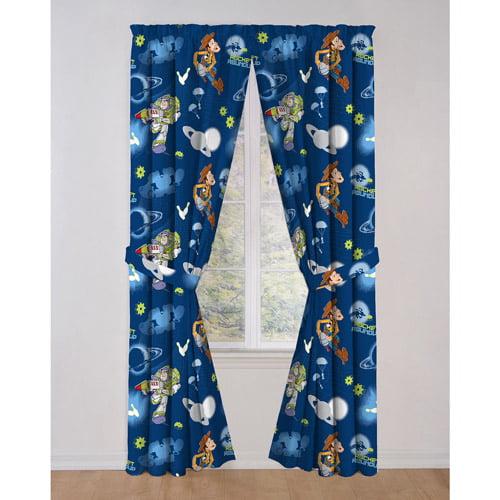 Disney toy story curtain drapes set of 2 - Modelos de cortinas infantiles ...