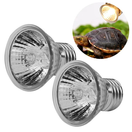Keenso 75W Heating Light Bulb Aquarium Lamp for Pet Reptile Turtles, Reptile Heating Light, Aquarium Heating Light,For Turtle & Aquatic  Reptile  Habitat