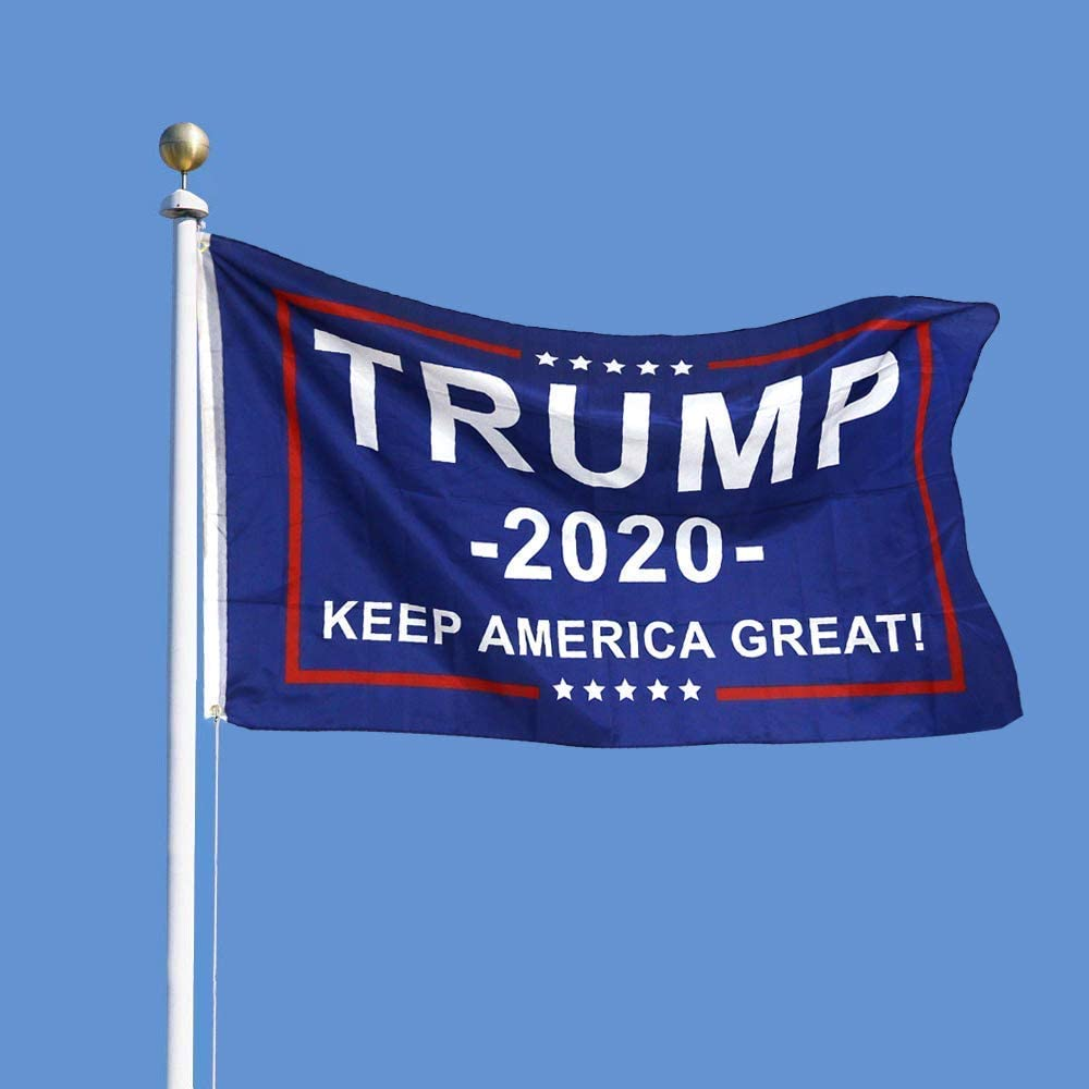3x5ft Donald Trump Flag 2020 President Keep Make America Great MAGA USA Banner