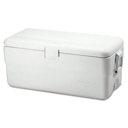 Rubbermaid Marine Series Ice Chest, 102qt, White