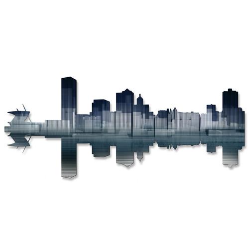 All My Walls Milwaukee Reflection Wall D cor