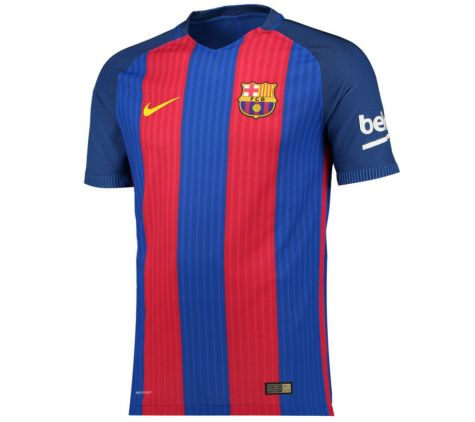 Nike Barcelona Home Jersey 2016 Size Adult S