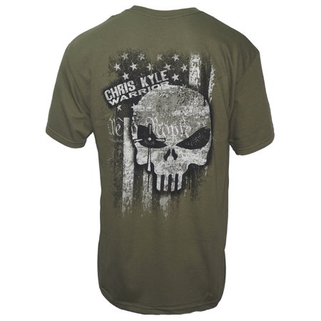 Chris Kyle Frog Foundation Men's Ink of Freedom T-Shirt Military