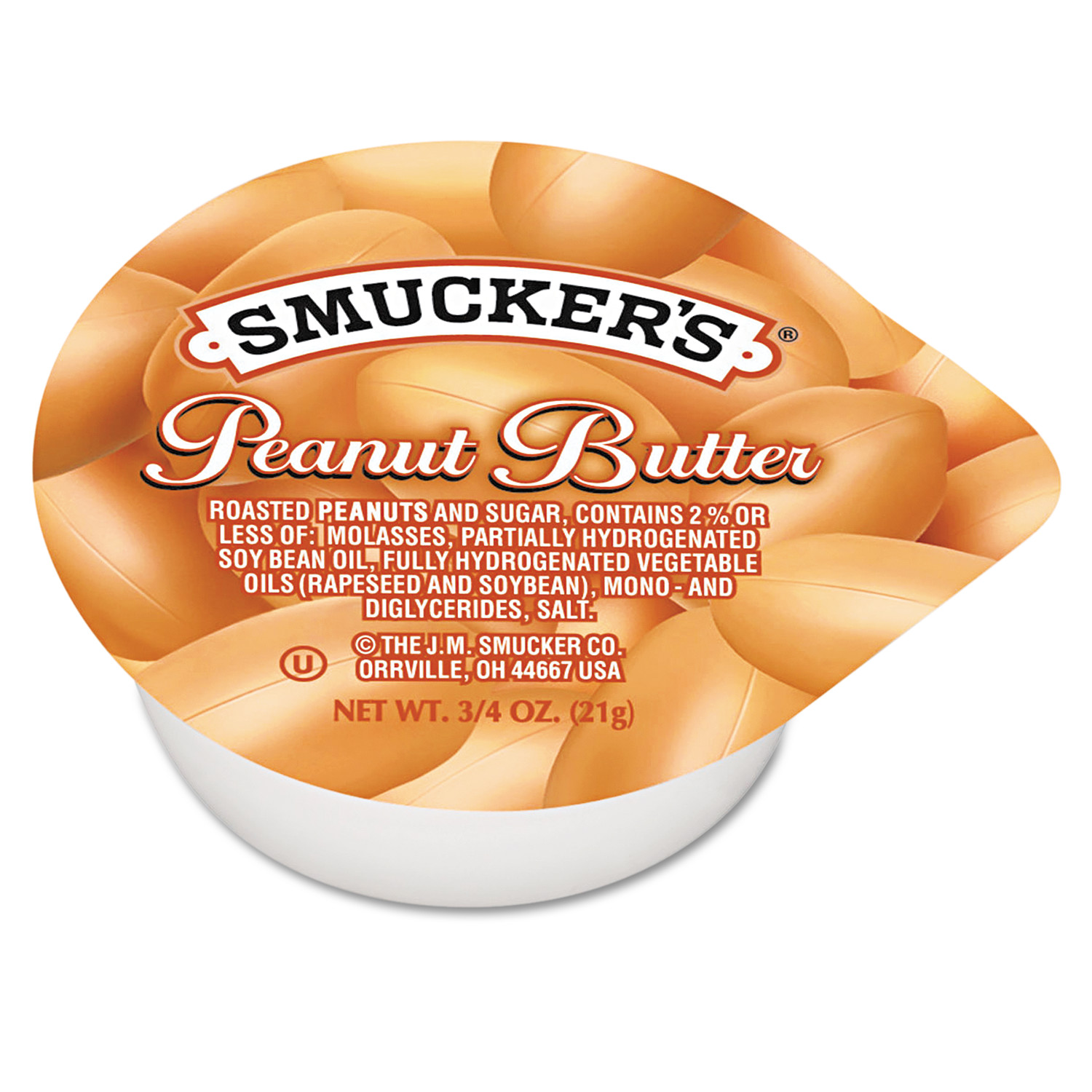 Smucker's Peanut Butter Single Serving Packs, .75 oz, 200 count
