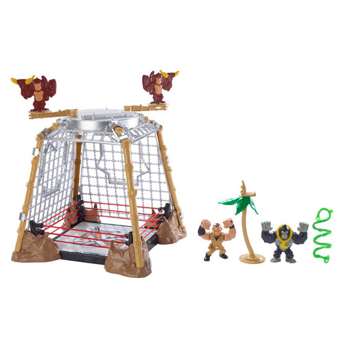 WWE Slam City Gorilla in a Cell Match Play Set by Mattel